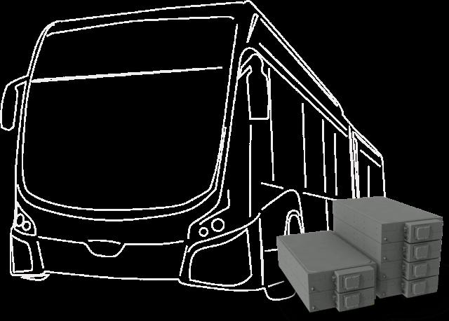 Batterie de bus au lithium