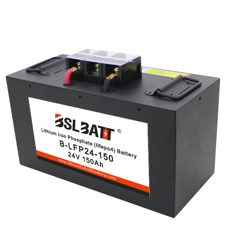 24V 150Ah lithium ion battery - LiFePO4 - BSLBATT®