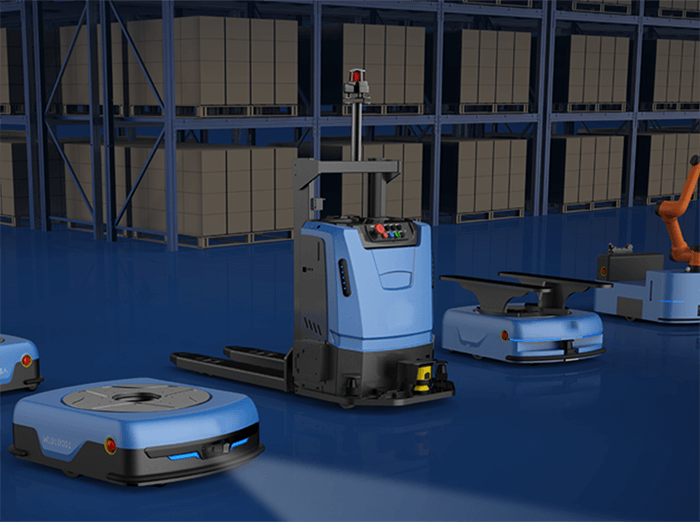 Automated lithium-ion reach trucks improve efficiency at Suzhou AGV Robot Co Ltd