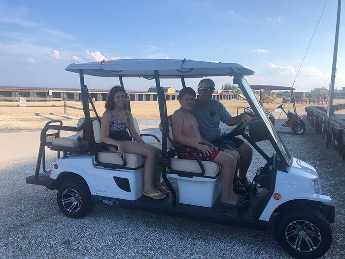 Batterie de voiturette de golf