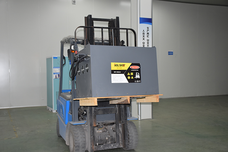 Increases Efficiency with Lithium-ion Powered Lift Equipment