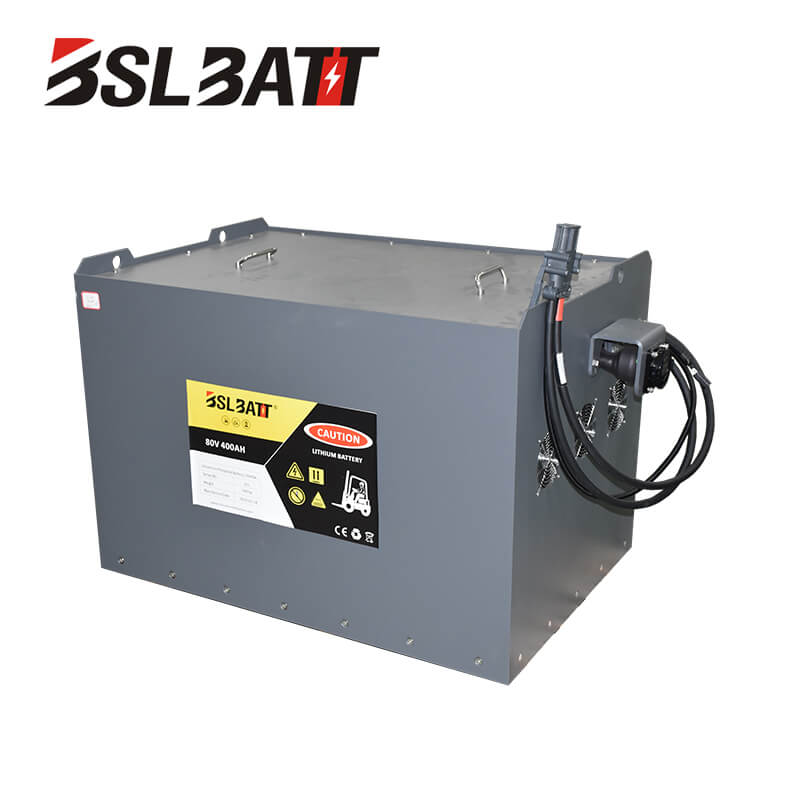 80V lithium ion forklift battery for HYSTER Used lift truck Class I