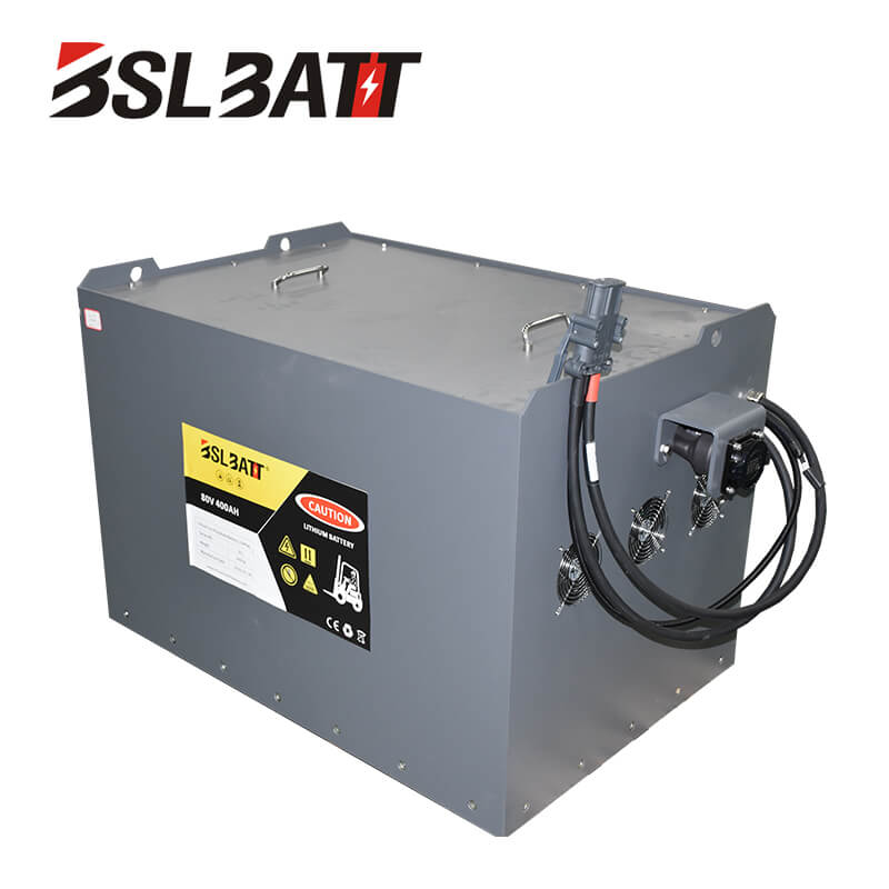 48V lithium ion forklift battery for Linde Used lift truck Class II