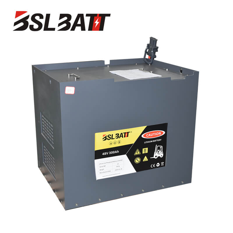 48V lithium-ion forklift battery for Manitou Used lift truck Class I