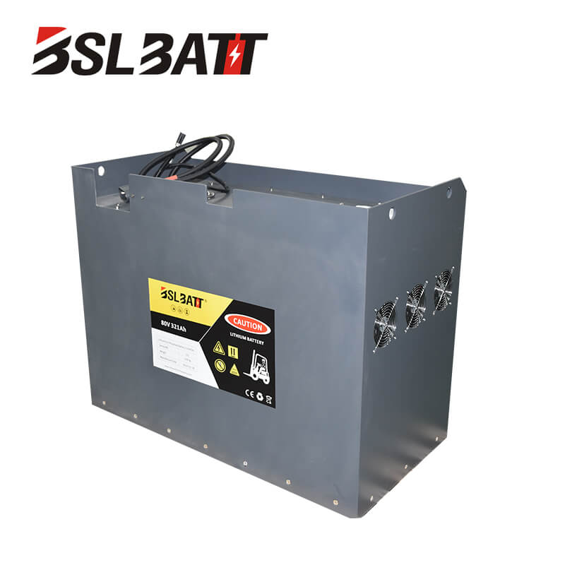 80V lithium-ion forklift battery for Toyota Used lift truck Class III