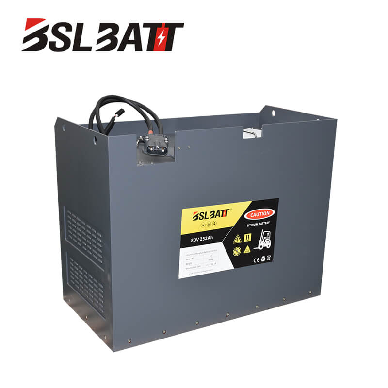 80V lithium ion forklift battery for Crown Used lift truck Class III