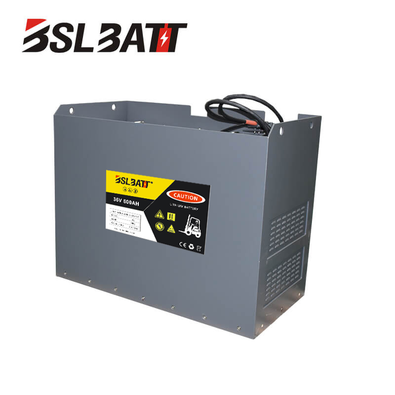 36V lithium-ion forklift battery for Manitou Used lift truck Class I