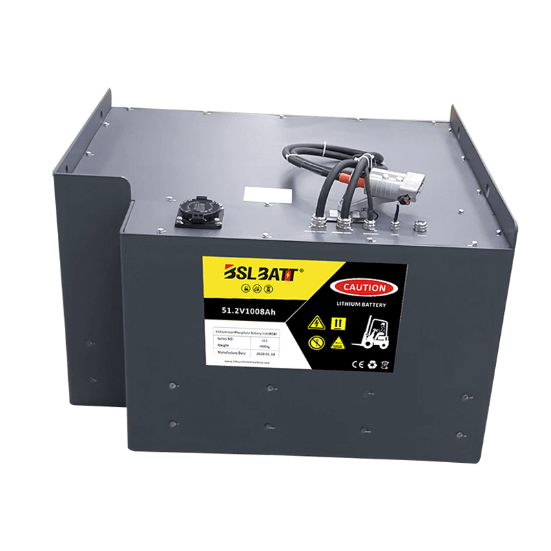 48V lithium-ion forklift battery for Hyster Used lift truck Class I