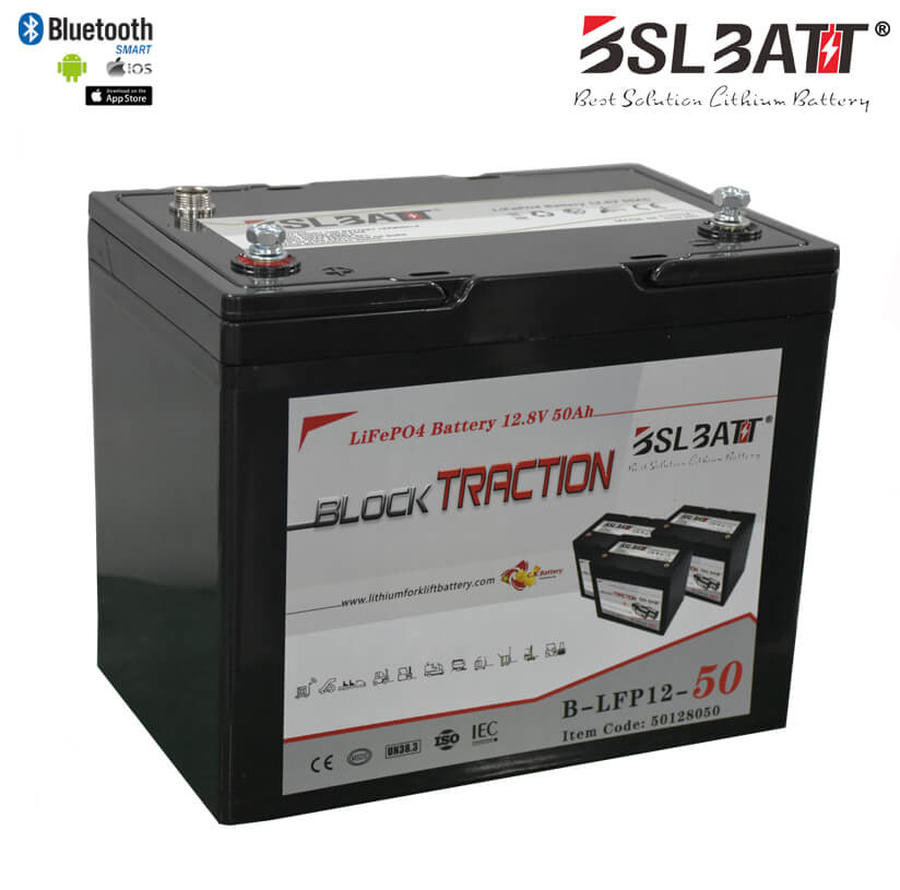 Lithium-ion Block Traction Battery-50AH