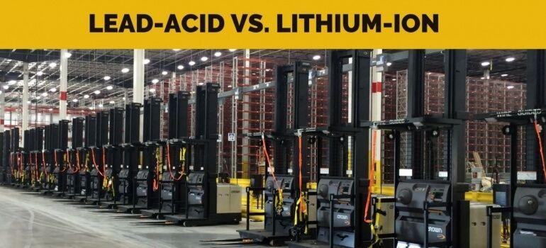 batteries industrielles lithium-ion