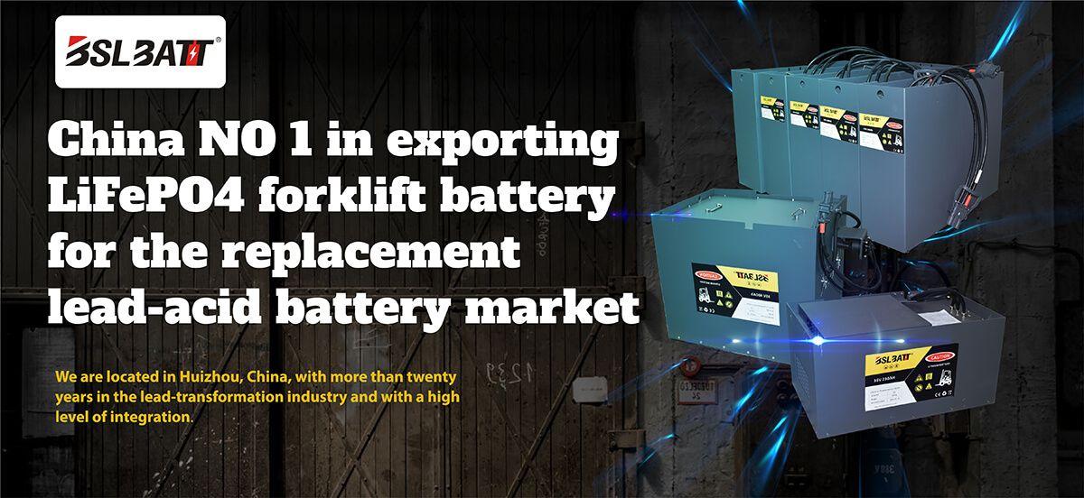 Batteries au lithium pour camions industriels BSLBATT