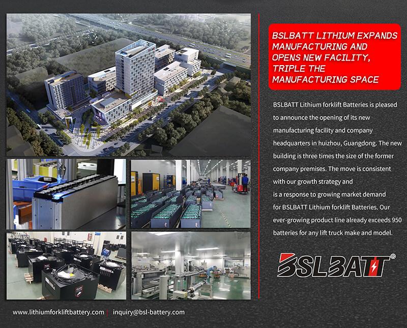 BSLBATT Lithium étend sa fabrication et ouvre une nouvelle usine, triple l'espace de fabrication