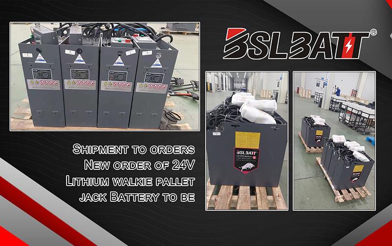 Livré 12 jeux de batteries au lithium BSLBATT à un important revendeur de batteries en Colombie.